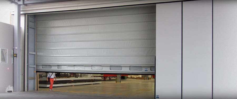 Fold Up rolling door  IMVA Industrial Doors 4