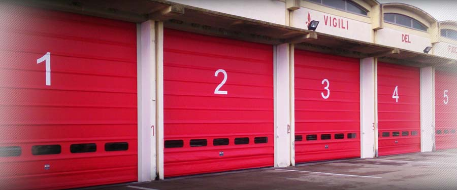 Fold Up rolling door  IMVA Industrial Doors 6