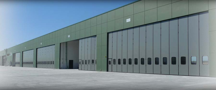 Insulated industial doors LIBRUM IM VA 6