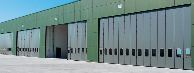 SUPERTHERMIC insulated industrial doors